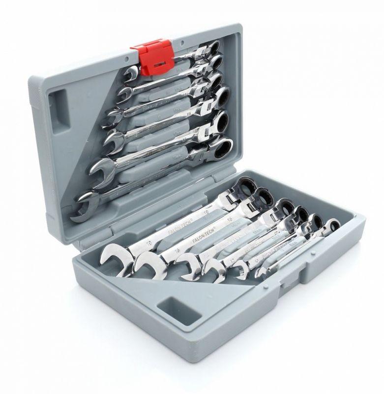 Kombinované klíče s rohatkou 8-19 mm kloubové 12 Ks FT 510 TAGRED