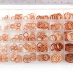 Měděné podložky 300 ks FT016003