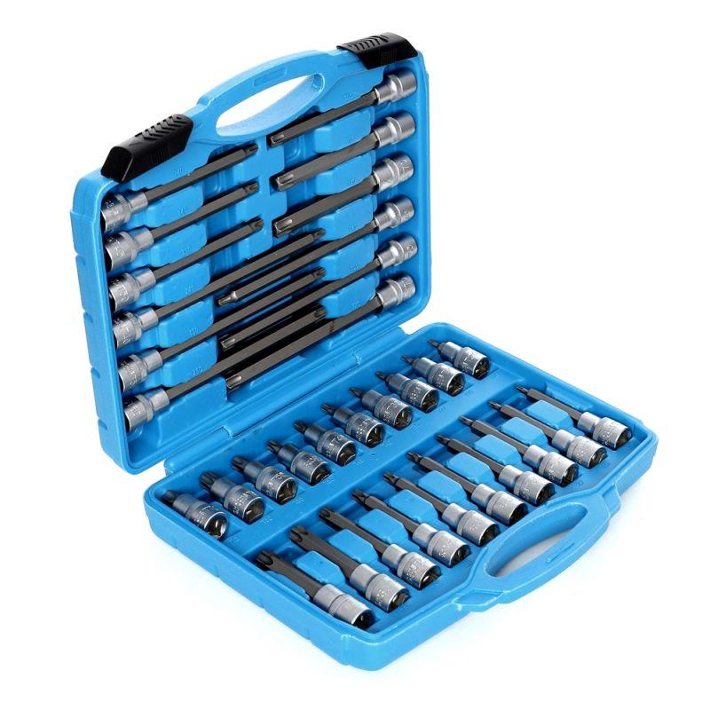 TORX klíče 32 ks. 1/2 prodloužené XL32TBS