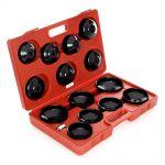 Víčka olejových filtrů pro sadu 15 prvků s adaptérem FT770773