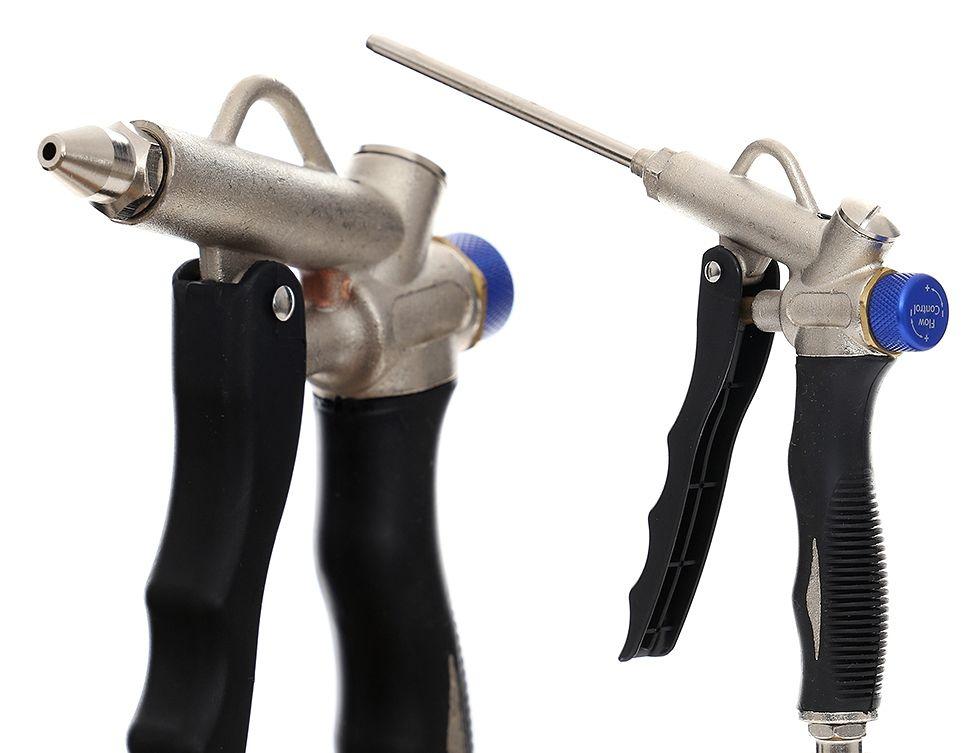 Vyfukovací pistole s regulací tlaku 10 BAR, gumová TA141